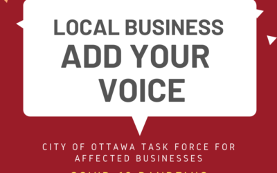 Share Your Input: Small Business Taskforce & COVID-19